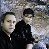 Play & Download CHAUSSON, E.: Concerto for Violin, Piano and String Quartet / FAURE, G.: Violin Sonata No. 1 (Kim, Denk, Jupiter String Quartet) by Jeremy Denk | Napster