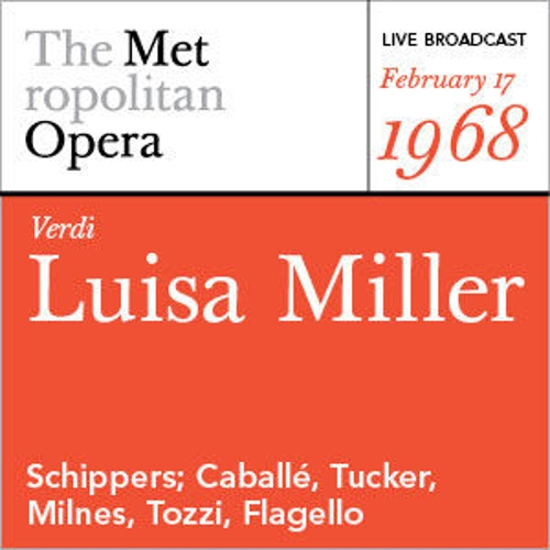 Play & Download Verdi: Luisa Miller (February 17, 1968) by Various Artists | Napster