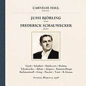 Jussi Björling at Carnegie Hall, New York City, March 2, 1958 by Various Artists
