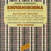 Mussorgsky: Khovanshchina (Sung in Italian) (Live) by Various Artists