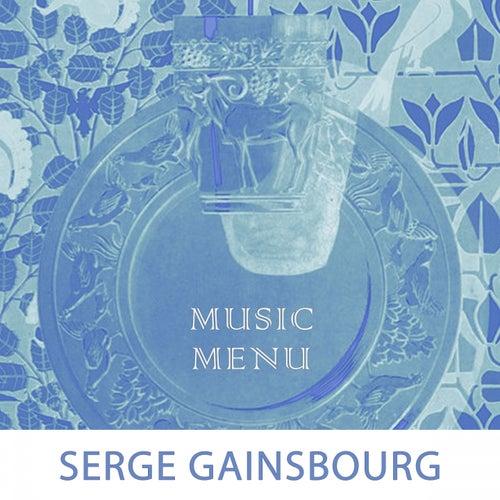 Music Menu de Serge Gainsbourg
