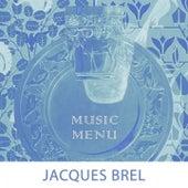Music Menu by Jacques Brel