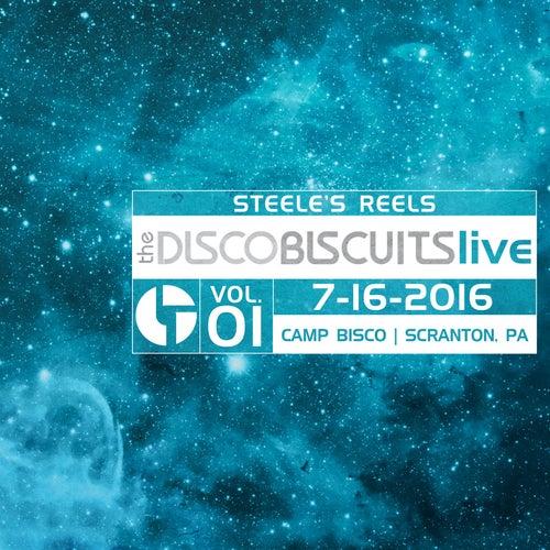 Steele's Reels, Vol. 1: 7-16-2016 (Camp Bisco, Scranton, PA) (Live) von The Disco Biscuits