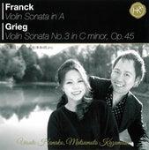 Franck: Violin Sonata No. 3 in C Minor - Grieg: Violin Sonata in A Major by Hanako Uesato