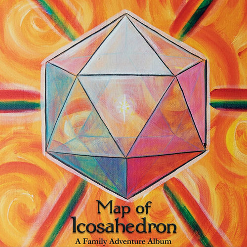 Map of Icosahedron by Mr. Chris