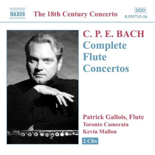 Complete Flute Concertos by Carl Philipp Emanuel Bach
