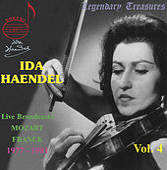Play & Download Mozart: Concerto for Violin and Orchestra - Franck: Sonata for Violin and Piano by Ida Haendel | Napster