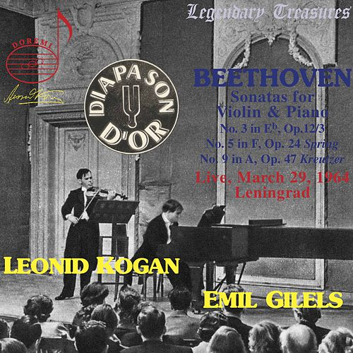 Beethoven: Works for Violin and Piano by Leonid Kogan