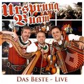 Das Beste: Live by Ursprung Buam