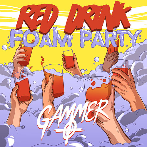 Red Drink Foam Party by Gammer