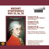 Mozart: Symphonies No. 35, 36, 38 by Sir Thomas Beecham