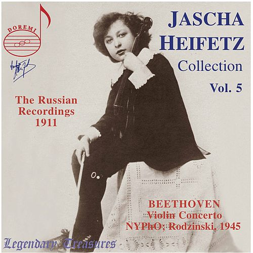 Play & Download Jascha Heifetz Collection Vol. 5 by Jascha Heifetz | Napster