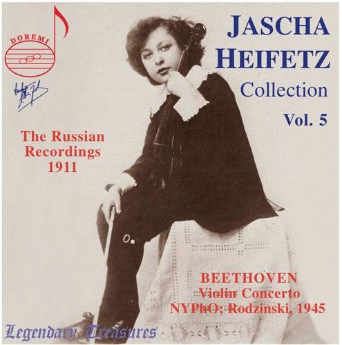 Play & Download Jascha Heifetz Collection Vol. 5 by Jascha Heifetz | Napster