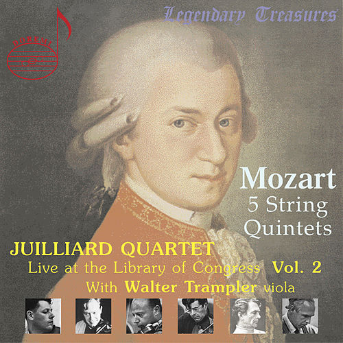 Play & Download Mozart Quintets with Walter Trampler by Juilliard Quartet | Napster