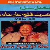 Play & Download Nusrat Fateh Ali Khan In Concert Vol -23 by Nusrat Fateh Ali Khan | Napster