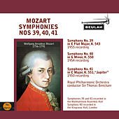 Mozart: Symphonies No. 39, 40, 41 by Sir Thomas Beecham