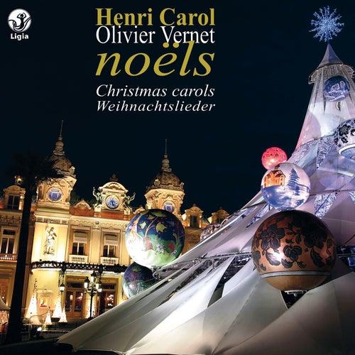 Carol: Livre de Noëls pour orgue von Olivier Vernet