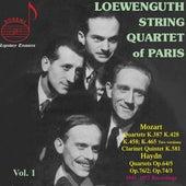Loewenguth Quartet, Vol. 1: Haydn & Mozart by Various Artists
