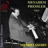 Menahem Pressler, Vol. 1: Mendelssohn by Menahem Pressler