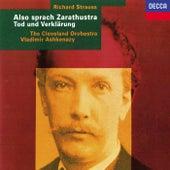 Richard Strauss: Also sprach Zarathustra; Tod und Verklärung di Vladimir Ashkenazy