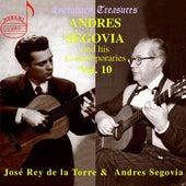 Segovia & Contemporaries, Vol. 10: José Rey de la Torre by Various Artists