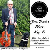 Blues Jamtrack Key D by Kjell Karlsson