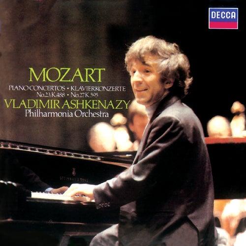 Mozart: Piano Concertos Nos. 23 & 27 by Philharmonia Orchestra