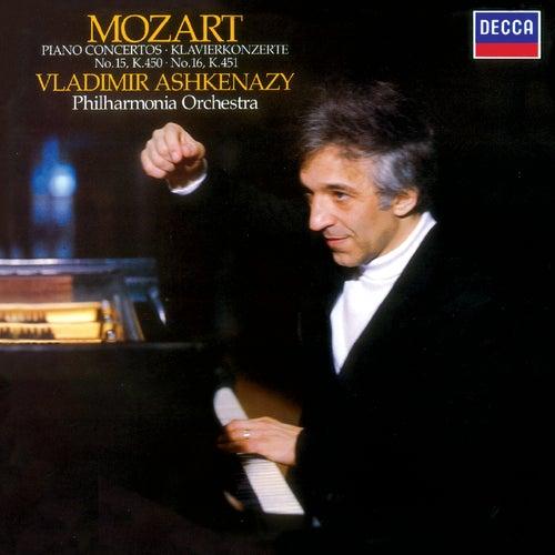 Mozart: Piano Concertos Nos. 15 & 16 by Philharmonia Orchestra