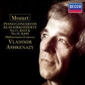 Mozart: Piano Concertos Nos. 11 & 14 by Philharmonia Orchestra