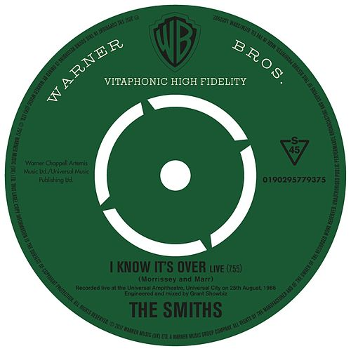 I Know It's Over (Live) by The Smiths