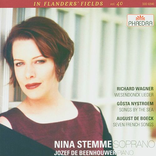 In Flanders' Fields Vol. 40: Richard Wagner, Gösta Nystroem and August de Boeck by Nina Stemme