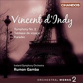 INDY, V. d': Orchestral Music, Vol. 2 (Gamba) - Symphony No. 2 / Tableaux de voyage / Karadec Suite by Rumon Gamba