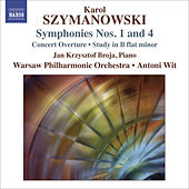 Play & Download SZYMANOWSKI, K.: Symphonies Nos. 1 and 4 / Concert Overture / Study in B flat minor (Warsaw Philharmonic, Wit) by Antoni Wit | Napster