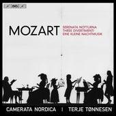 Mozart: Serenata notturna, 3 Divertimenti & Eine kleine Nachtmusik by Camerata Nordica