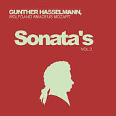 Wolfgang Amadeus Mozart: Sonata's, Vol. 3 by Gunther Hasselmann