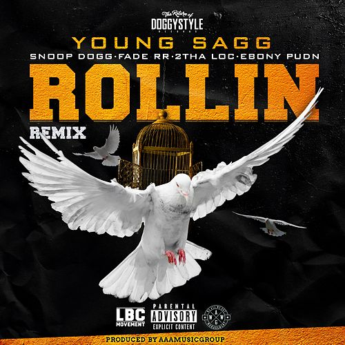 Rollin (feat. Snoop Dogg, Fade RR, 2Tha Loc & Ebony Pudn) by Young Sagg
