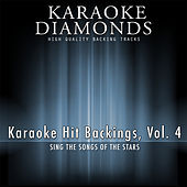Karaoke Hit Backings, Vol. 4 von Karaoke - Diamonds