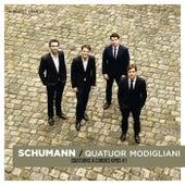 Schumann: String Quartets Op. 41 by Quatuor Modigliani