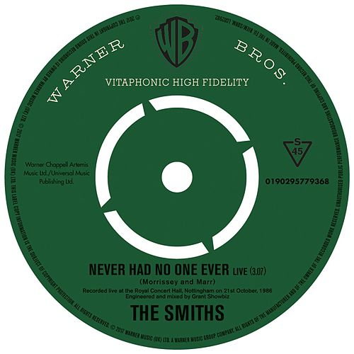 Never Had No One Ever (Live) von The Smiths