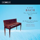C.P.E. Bach: The Solo Keyboard Music, Vol. 33 by Miklós Spányi