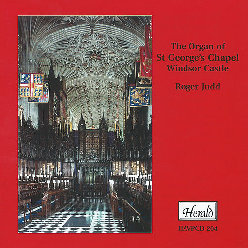 The Organ of St. George's Chapel, Windsor Castle by Roger Judd