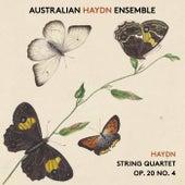 Haydn String Quartet, Op. 20, No. 4 by Australian Haydn Ensemble