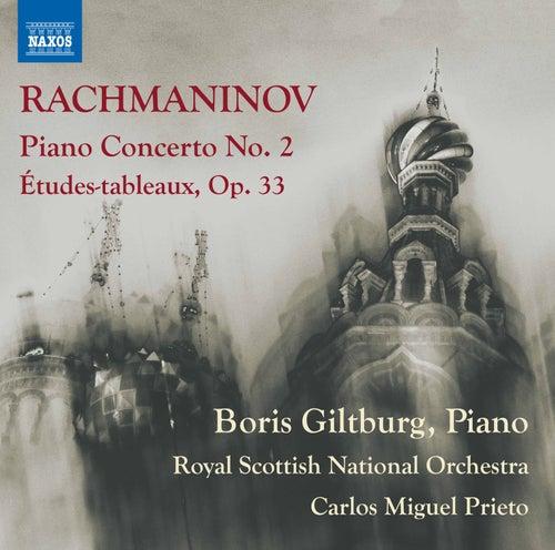 Rachmaninov: Piano Concerto No. 2 in C Minor, Op. 18 & Études-tableaux, Op. 33 by Boris Giltburg
