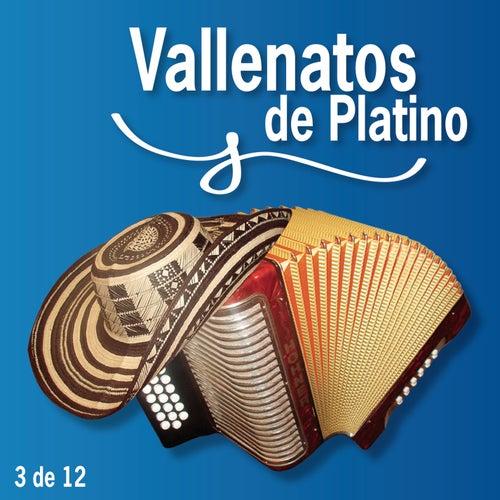Vallenatos De Platino Vol. 3 by Various Artists