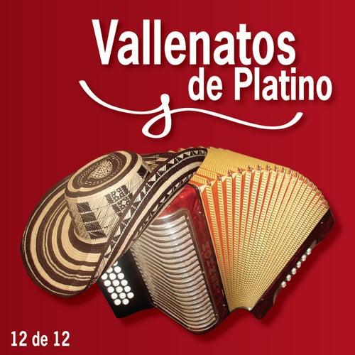 Vallenatos De Platino Vol. 12 by Various Artists