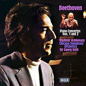 Beethoven: Piano Concertos Nos. 1 & 2 by Sir Georg Solti