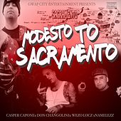 Modesto to Sacramento (feat. Don Changolini, Wezo Locz & Namelezz) by Casper Capone