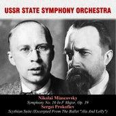Nikolai Miascovsky: Symphony No. 16 In F Major, Op. 39 / Sergei Prokofiev: Scythian Suite (Excerpted From The Ballet