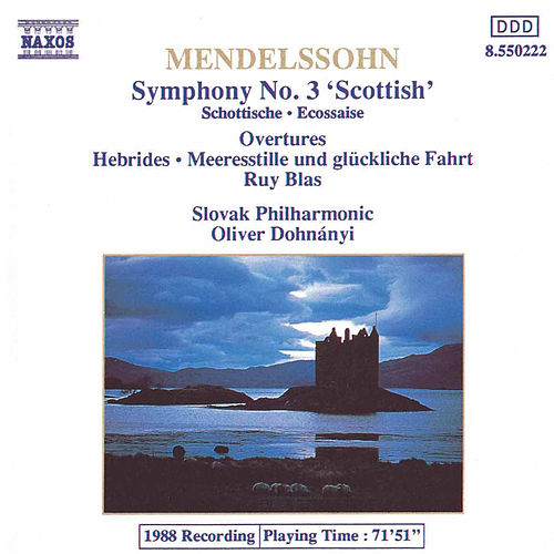 Play & Download Symphony No. 3 'Scottish' by Felix Mendelssohn | Napster