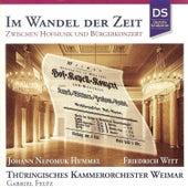Hummel & Witt: Im Wandel der Zeit by Thüringisches Kammerorchester Weimar